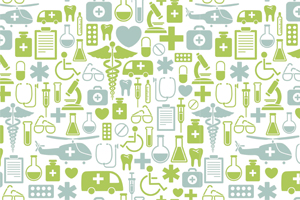 Medical Icons Background