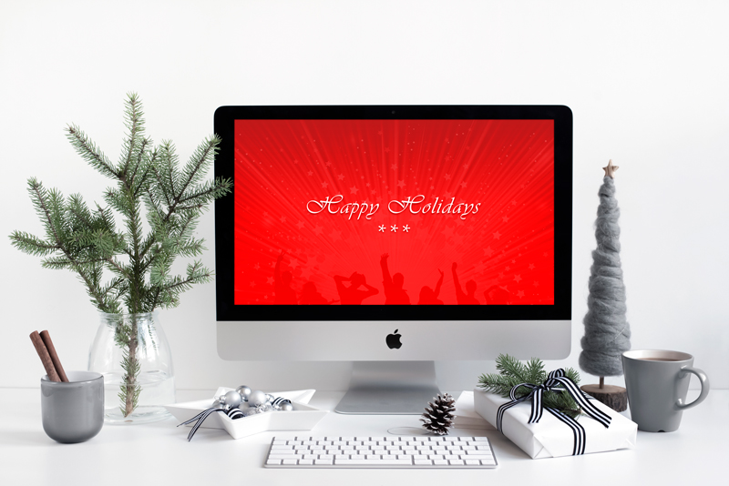 Christamas Holiday Styled Mockups
